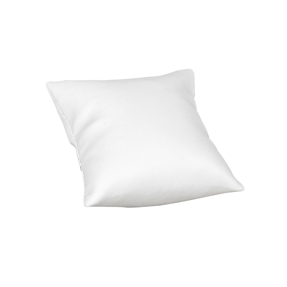 coussin en gain synth tique blanc avec support de pr sentation selfor paris. Black Bedroom Furniture Sets. Home Design Ideas