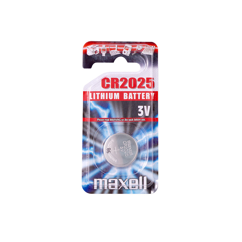 Pile lithium CR2025 Maxell - Blister x1
