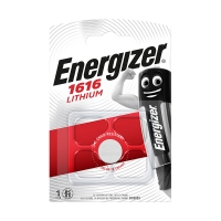 Pile lithium CR1616 Energizer - Blister x1
