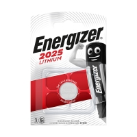 Pile lithium CR2025 Energizer - Blister x1