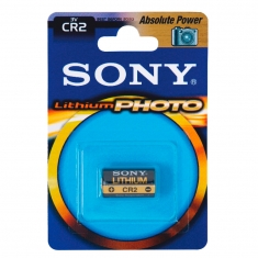 Pile lithium photo CR2-B1A Sony vendue sous blister