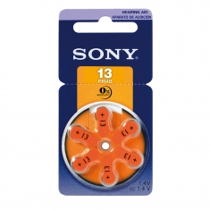 Piles auditives Sony 13 PR48 (x6) vendues sous blister
