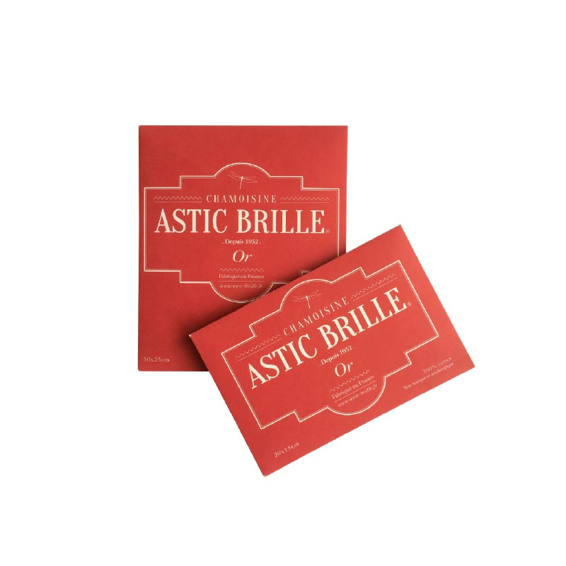 Chamoisine Astic Brille pour l\\\'or avec packaging