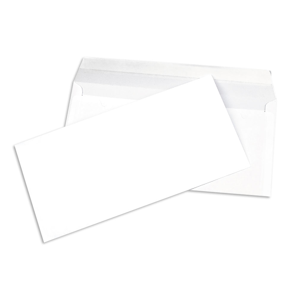 Enveloppes blanches longues