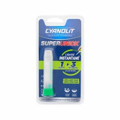 Colle Cyanolit Superunick multi-usages extra-forte - Collage par infiltration