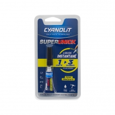 Colle Cyanolit Superunick multi-usages extra-forte - Prise immédiate