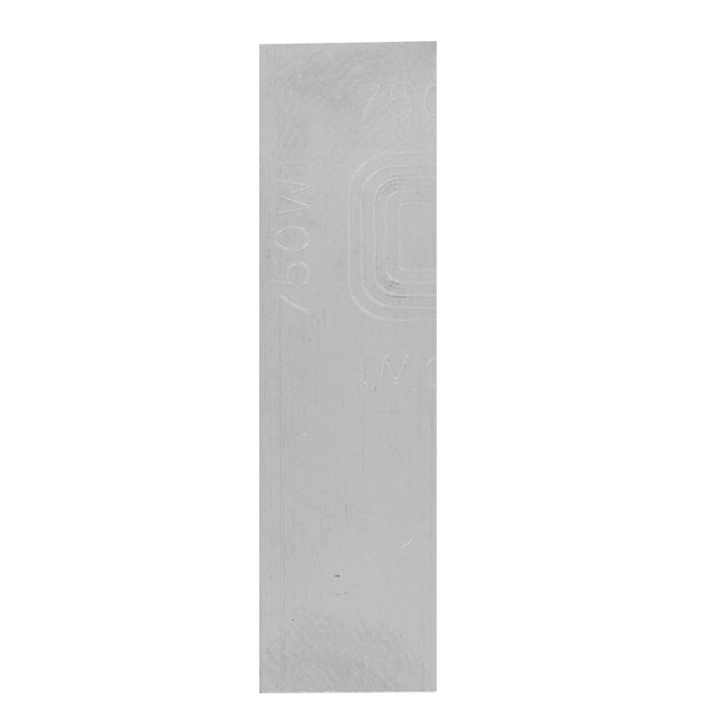 Soudure Or gris 750/1000 en plaque, 740°C - 795°C