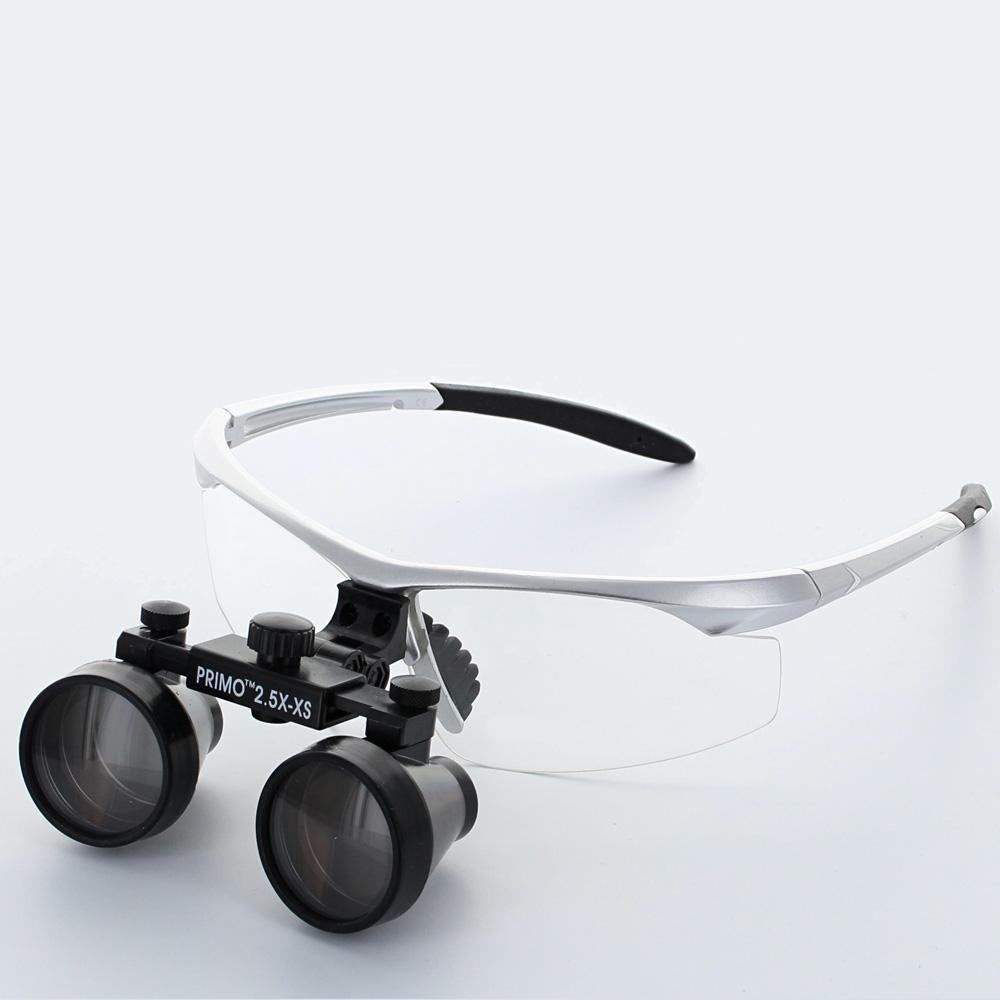 lunette de protection avec loupe 2 5x selfor paris. Black Bedroom Furniture Sets. Home Design Ideas