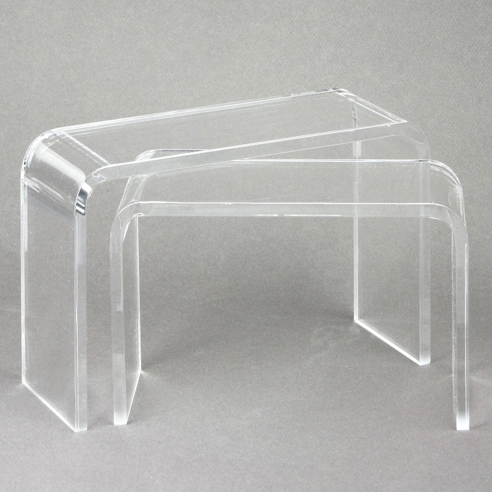 support bijoux 2 ponts en plexi transparent selfor paris. Black Bedroom Furniture Sets. Home Design Ideas