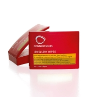 25 Jewellery Wipes by Connoiseurs in handy dispenser