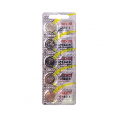 Maxell CR1616 lithium battery - pack of 5