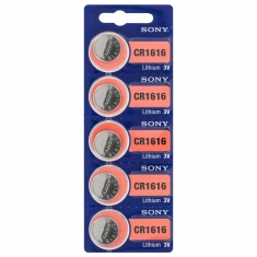 Sony CR 1616 lithium button cell battery
