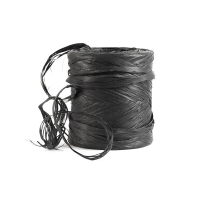 Black raffia gift ribbon