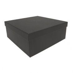 Card gift presentation box with coordinating foam insert