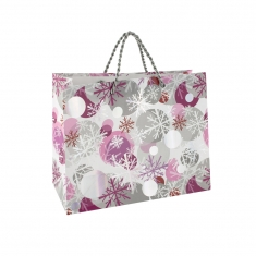 Christmas paper carrier bag