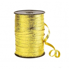 Embossed mirror-effect gift curling ribbon 7mm x 180m