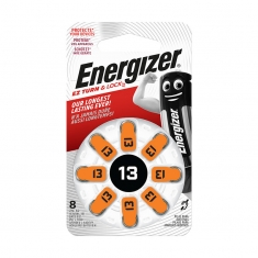 Energizer AC13 hearing aid batteries