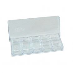 Clear rectangular boxes