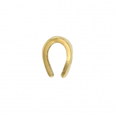 18ct gold bail, triangular form 3.5x6mm