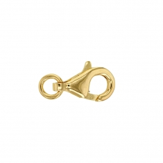 9ct gold trigger catch with jump ring