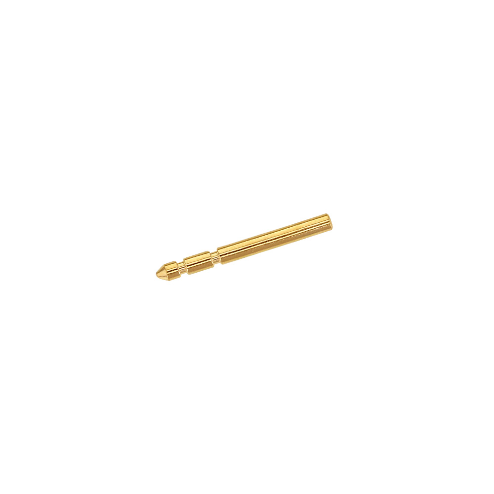 Pair of 18ct gold earring posts diametre 0.89mm - 11mm