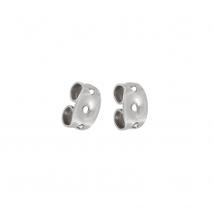 Stainless steel ear backs