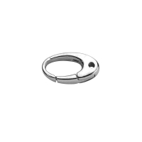 Sterling silver costume jewellery clasps