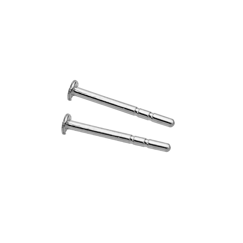 Sterling silver ear pins