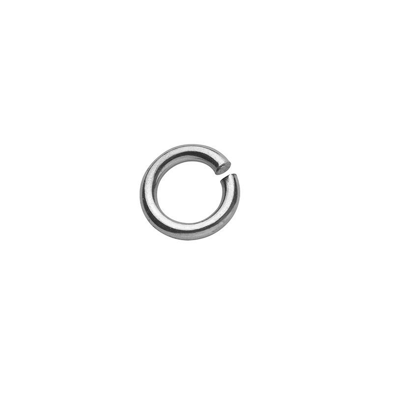 Sterling silver round jump rings