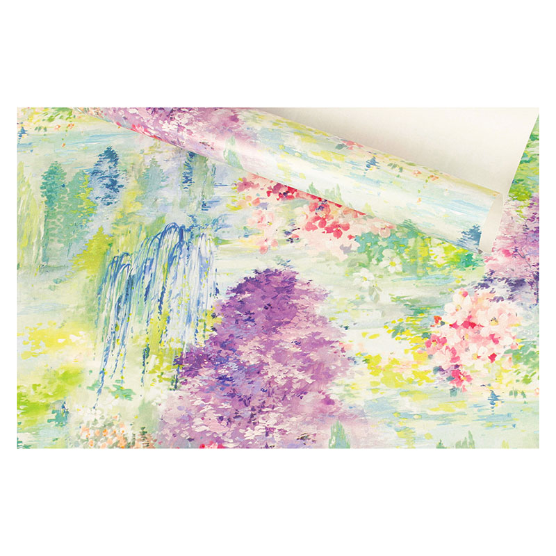 \\\'Monet\\\' style gift wrapping paper