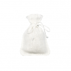 100% natural linen pouches