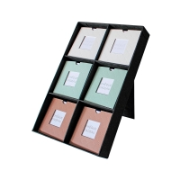 Gift voucher display stand for vouchers size 12 x 12cm (French only)