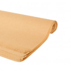 Kraft coloured tissue paper