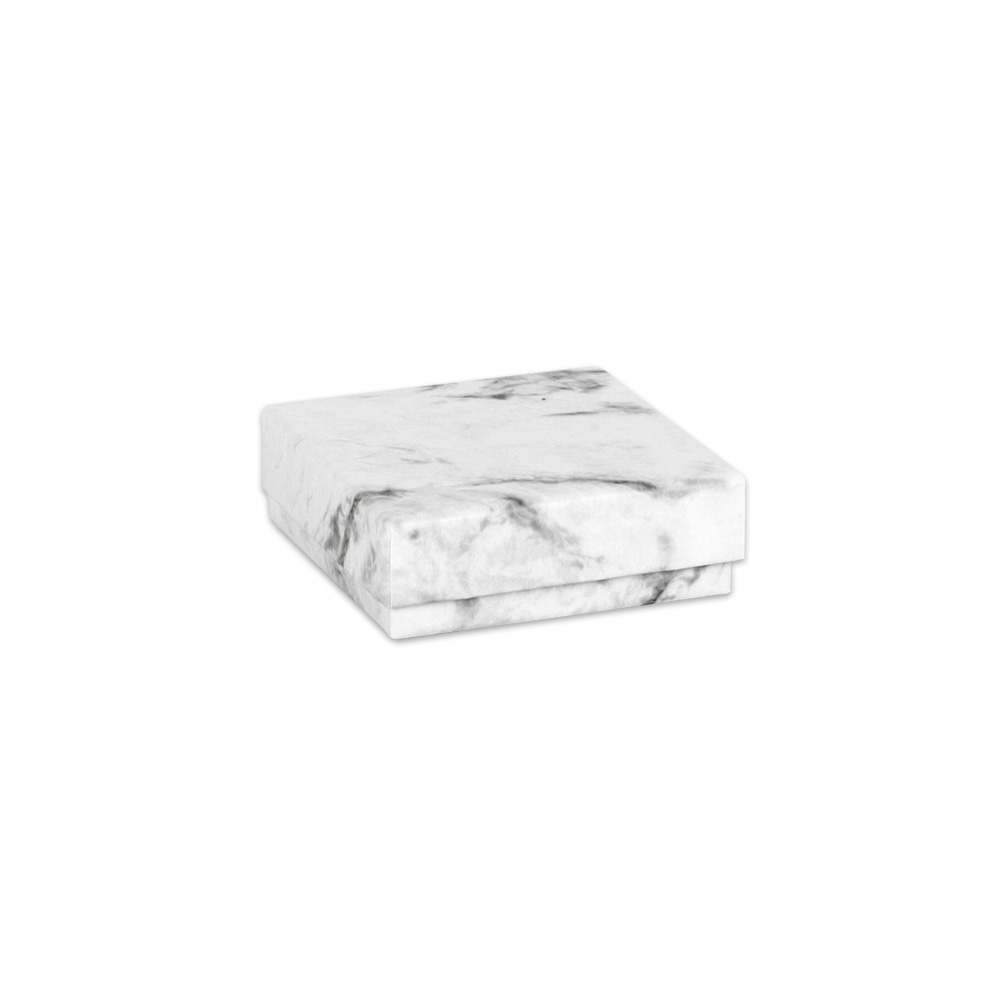 Marble finish card universal jewellery presentation box