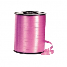 Plain fuchsia gift curling ribbon