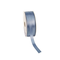 Powder blue satin-finish ribbon 12mm x 100m
