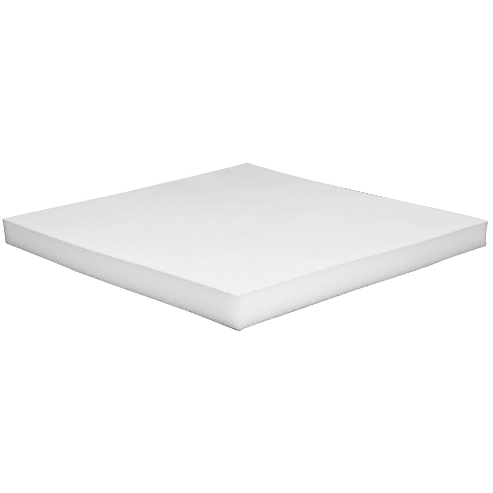 White foam insert for card presentation boxes