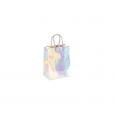 Holographic paper carrier bag