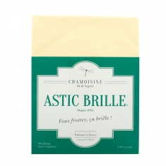 Astic Brille treated polishing cloth for gold and silver, small model 30 x 20cm