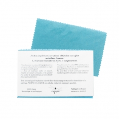 Small, gift model Astic Brille polishing cloth