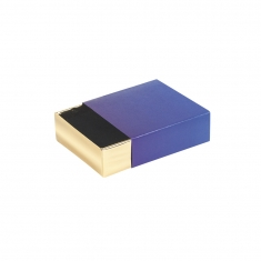 \\\'Medecis\\\' card matchbox style universal trinket box with shiny gold drawer