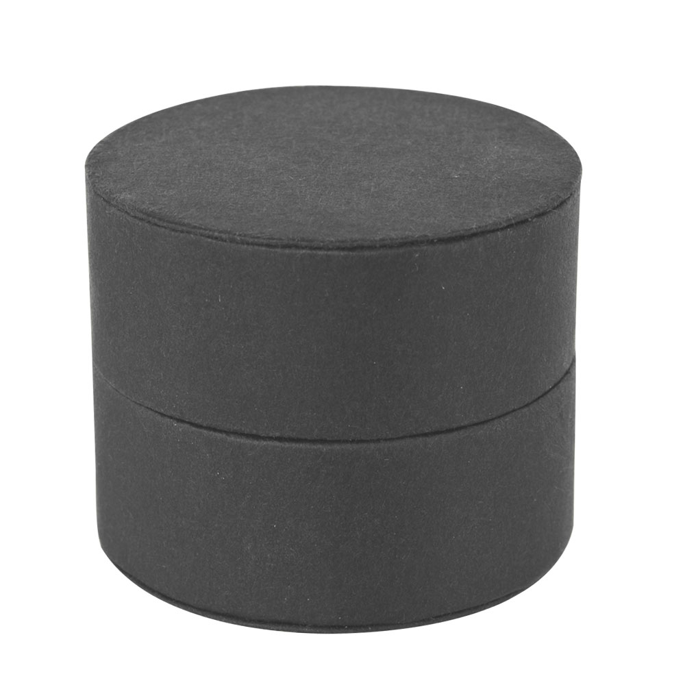 Cylindrical card ring box
