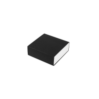 Matchbox style matt black and glossy white card jewellery gift boxes