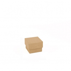 Natural kraft card jewellery presentation boxes