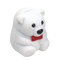 Polar bear trinket box