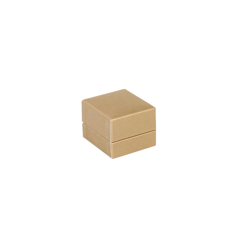 Taupe coloured striated satin finish jewellery presentation boxes