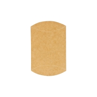 Kraft card pillow boxes