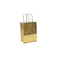Mirror-effect shiny paper carrier bags