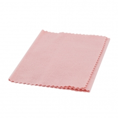 Pack of 10 polishing cloths for silverware and silver jewellery