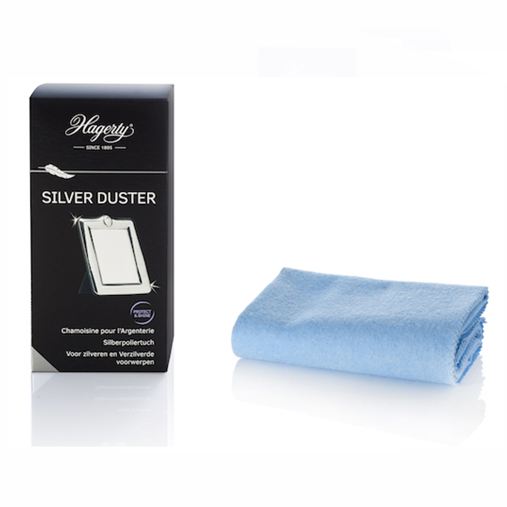 Pack of 12 Silver Duster cloths by Hagerty